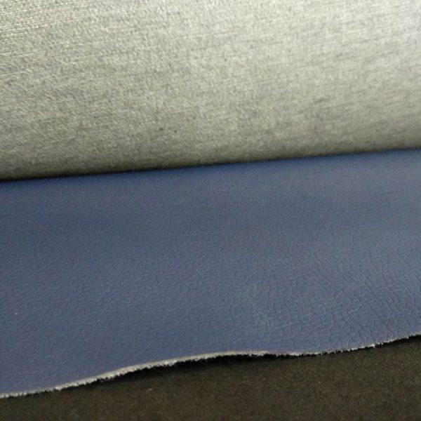 Pieles sintéticas azules