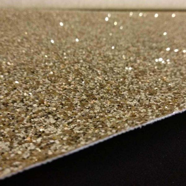 Material sintético fantasía Oro