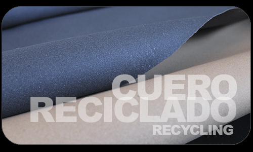 Cuero reciclado o regenerado