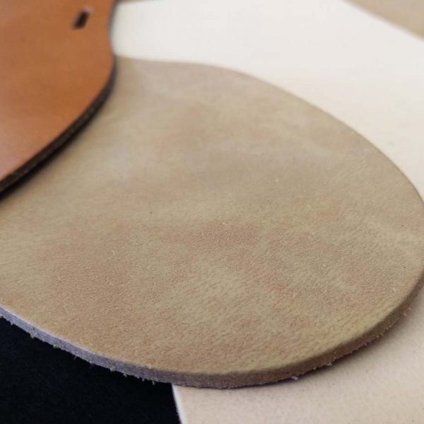 Material sintético para plantillas de sandalias