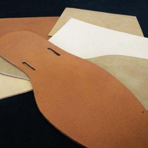 Material para plantillas de menorquinas
